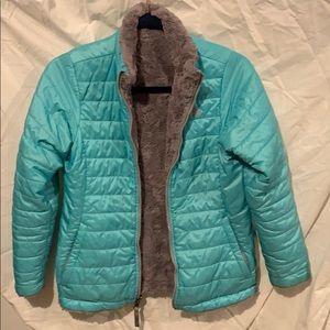 Reversible Girls North Face Jacket